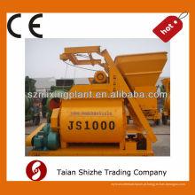 JS1000 misturador concreto portátil do eixo gêmeo, vendedor quente