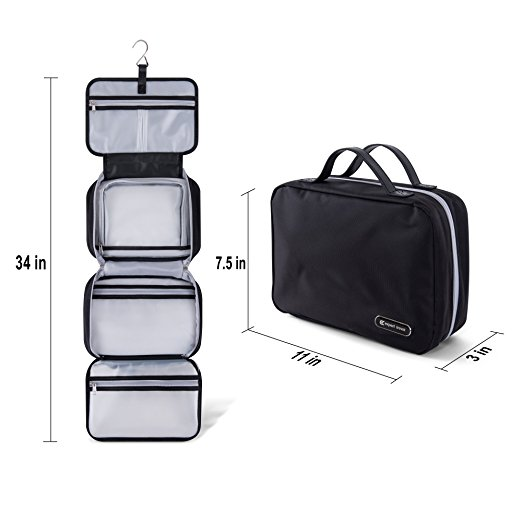 Folding Travel Toiletry Bag 4