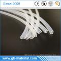 Flammhemmende billige quadratische Silikonschlauch für LED-Schuhe und LED-Streifen