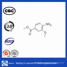 CAS 41608-64-4 Высокоскоростная доставка 99% Метил-4-амино-3-метоксибензоат