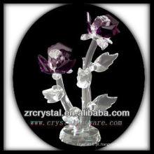 K9 Flor De Cristal Roxo