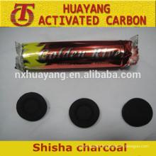 Long burning time coconut hookah shisha charcoal