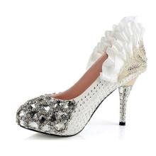 2016 Pop High Heel Fashion Lady Wedding Dress Shoes (A01)
