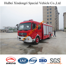 6ton Dongfeng rociadores de agua del camión de bomberos Euro4
