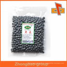 Sacos de embalagem de alimentos de vácuo reseláveis de alta qualidade para embalagem de feijão preto ou nozes de soja