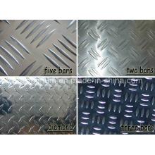Placa de piso em alumínio para fornecedor chinês com vários tamanhos