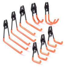 Strong Tool Hangers Stable Metal Garage Wall Hooks