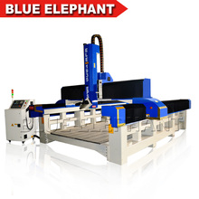 ELE 1935 Rotary Spindle styrofoam cutting machine CNC Foam with High speed