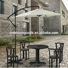 Terrasse extérieure aluminium jardin cantilever parasol