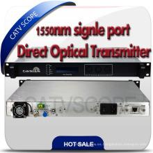 CATV 1550nm directamente modulado Jdsu modulador transmisor
