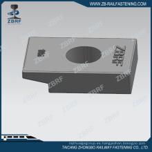 Abrazaderas de riel n. ° 106 para asegurar el riel de la grúa