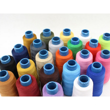 Fil de broderie en polyester filé de coton