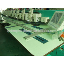 18 голов Chenille / Chain-stitch Industry Embroidery Machine, Автоматический триммер