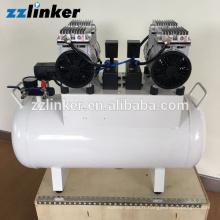 LK-B23 Compresseur d'air dentaire sans huile silencieux de haute qualité 60L 1090W