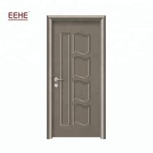 Einfaches Design Bad-Tür aus MDF-Holz PVC-Furnier