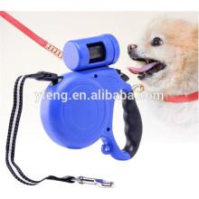 Neue automatische Haustier einziehbare Hundehalsband Leine mit Tasche