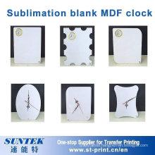 Sublimation MDF Clock Iceberg Shape