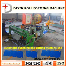 Dx Punch & Cut Machine para folha de metal telha Ridge