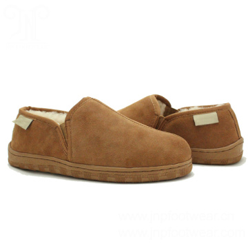 Fashion men sheepskin ankle winter slippers for sale