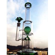 Green Ball Perc Rauchen Rohr Enjoylife Hbking Glas Wasser Piper Rockect Inline Perc Borosilikat Rauchen Rohr