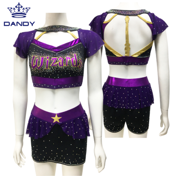 Neuankömmling Custom Sublimation Cheerleading Uniformen