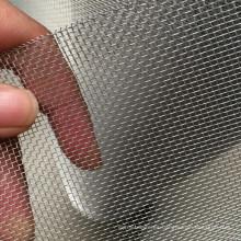 Malla de alambre de aluminio con acabado SS