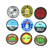 Hot sale high quality low price garment woven patch custom sew on jeans patch clothing patch