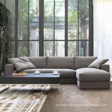 Moda estilo japonês sala sofá moderno da tela