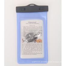 Caixa clara do telefone móvel impermeável do PVC do fechamento do ABS (yky7255)