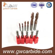 Hartmetall-Schaftfräser HRC50 4 Nuten
