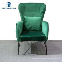 Dining Room Chairs with Soft Velvet Seat Backrest Makeup Leisure Upholstered Chair