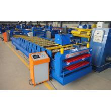 Lembar Atap Warna Coil Double Forming Machine