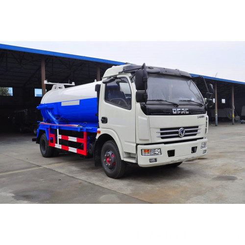 Dongfeng Chassis Vacuum Sewage Suction Truck