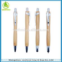 Высокое качество рекламной Эко дружественных бамбуковых шариковой ручки и перо набор