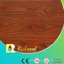 8.3mm Embossed Walnut U-Grooved Waterproof Laminate Flooring