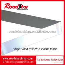 high silver reflective elastic fabric