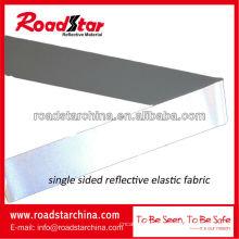 высокий Серебряный светоотражающий эластичной ткани