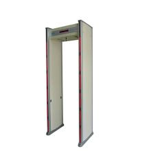 puerta del detector de metales del recorrido completo del cuerpo