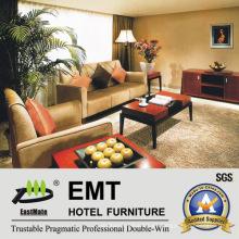 Sofá moderno de los muebles del vestíbulo del hotel fijado (EMT-SF09)