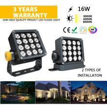 16 Watt Outdoor LED Flutlicht für die Stadt