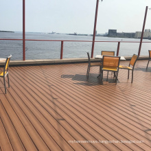 Outdoor composite decking interior wpc hollow floor Lowest Price