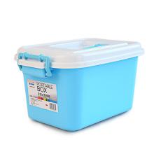 Пластиковый ящик для хранения в европейском стиле с ручкой (SLSN066)