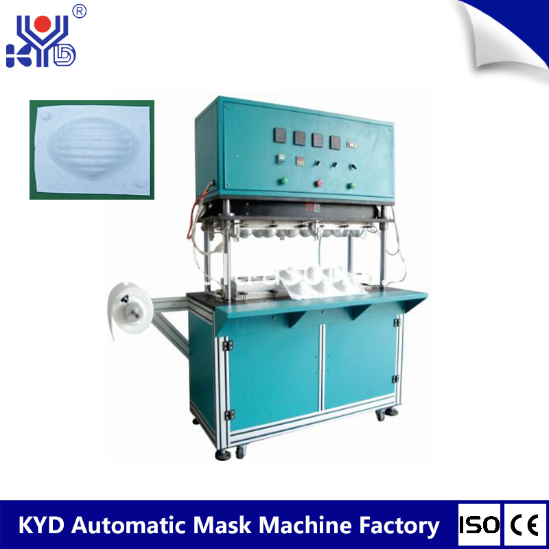 cup mask forming machine