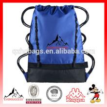 Bolsas de correo durables Gym Waterproof Training Gym Sack Mochila de cordón