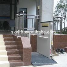 Hydraulic electric wheelchair chair lift for elder