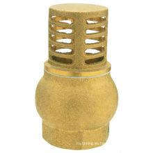 J5005 Válvula de pie de latón / válvula de colador de latón