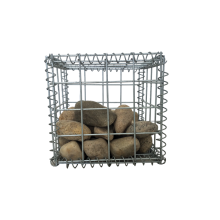 Galvanized welded gabion basket for rock