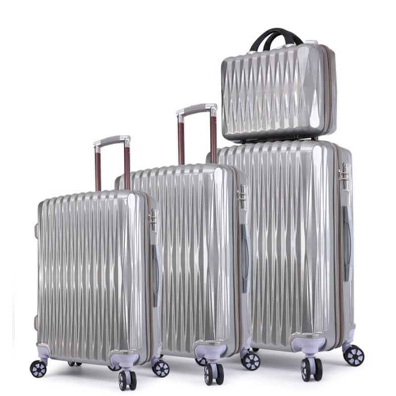 Gray luggage sets