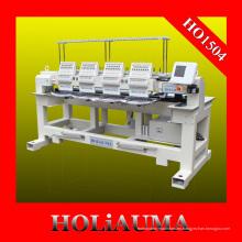 Máquina de bordar computarizada de alta velocidad 4 cabeza 15 colores para bordado Multi funciones