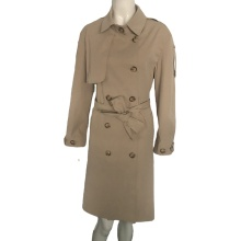 Mode wasserdicht Long Style Fitness Frauen Trenchcoat
